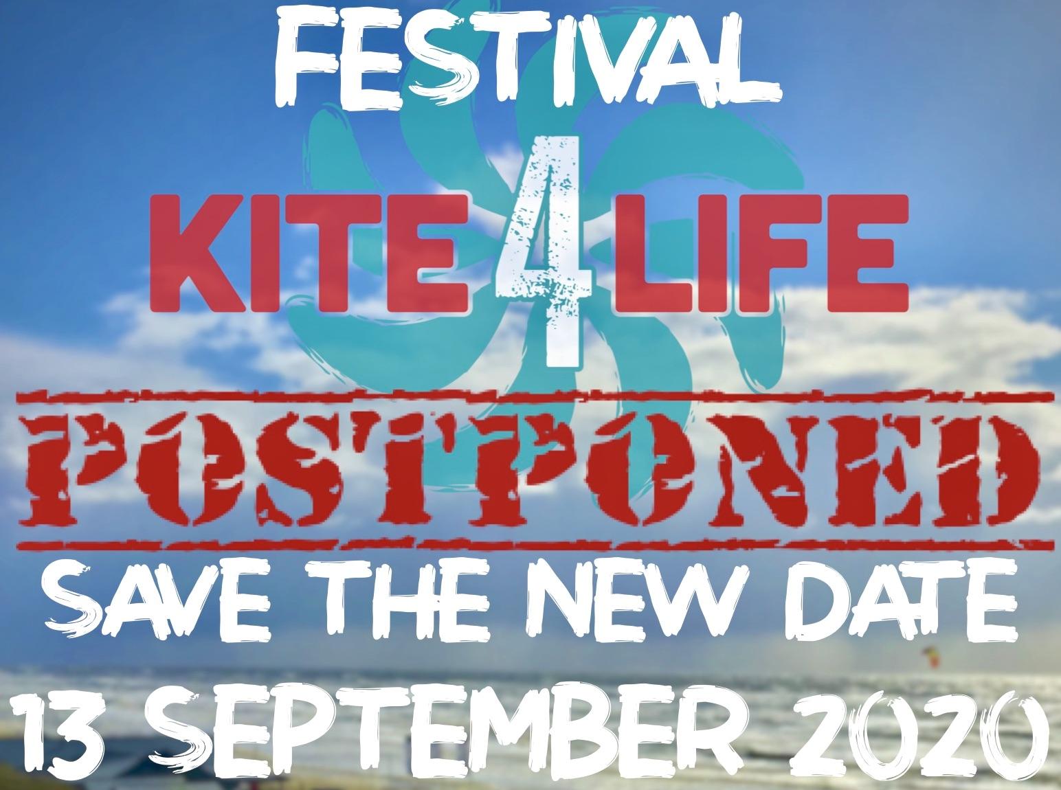 K4L Festival posponed poster