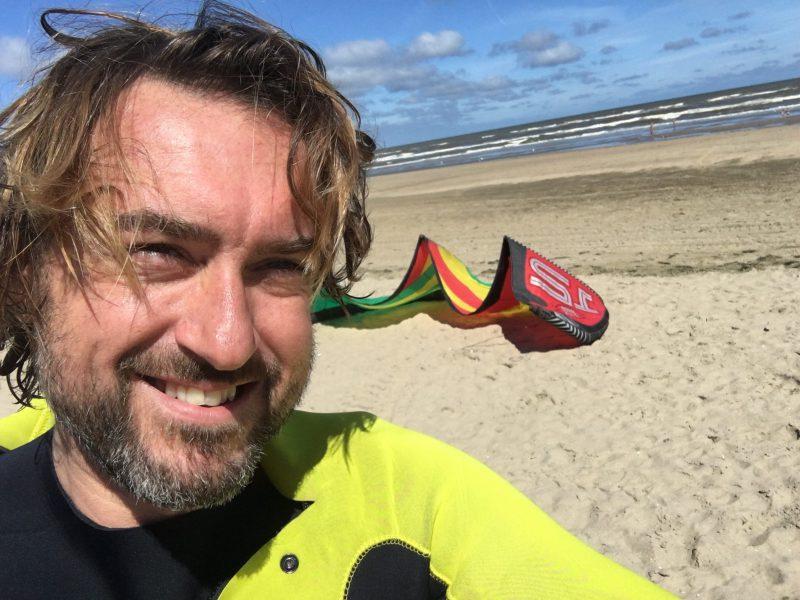 Baris op het strand