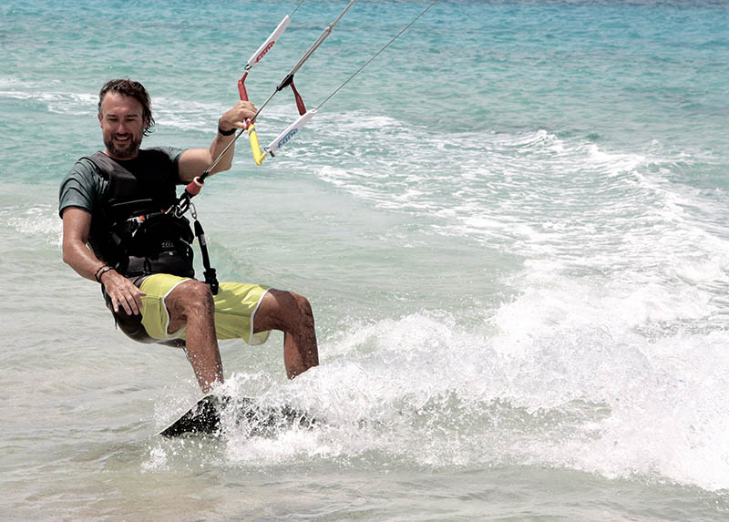 Baris kite op Bonaire