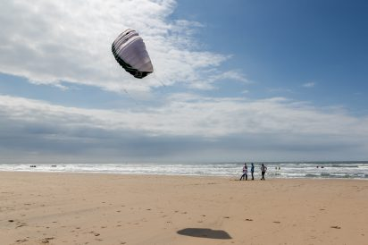 Kite4Life foundation kick-off at Watersport Vereniging Zandvoort, Zandvoort, The Netherlands