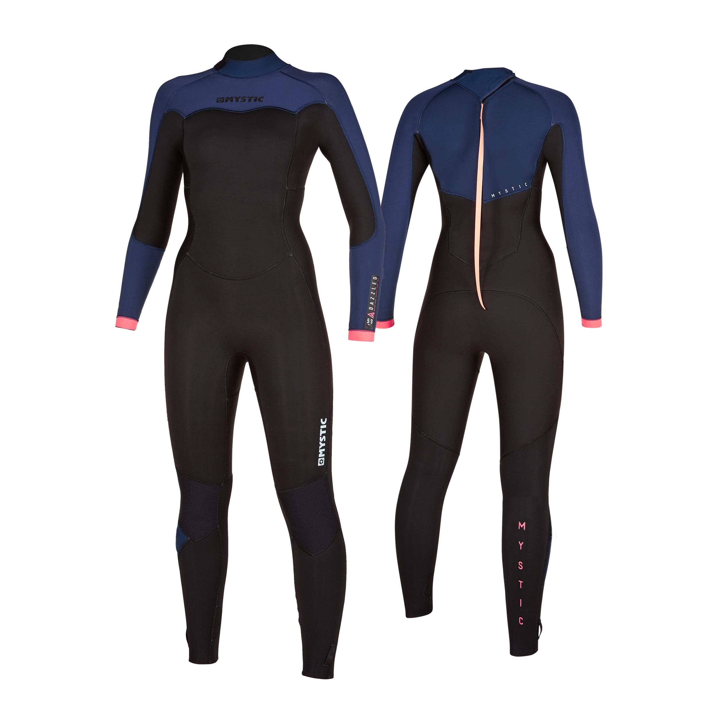 Mystic Wetsuit - Dazzled 5/3 Female - M