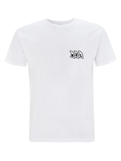 K4L T-shirt Wit - Mailen voor bestelling